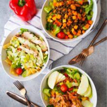 Packed Salad Three Ways