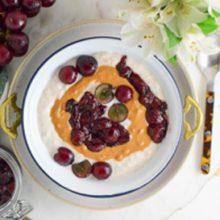 Peanut Butter & Jelly Breakfast Bowls